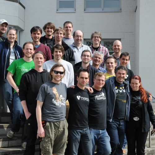 Das Team: TYPO3 CMS Actice Contributor Meeting in Nürnberg