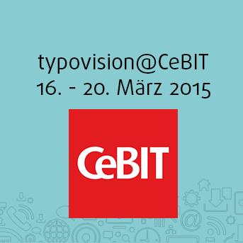 Besuchen Sie uns auf der CeBIT 2015, Halle 6 / Stand H16/214